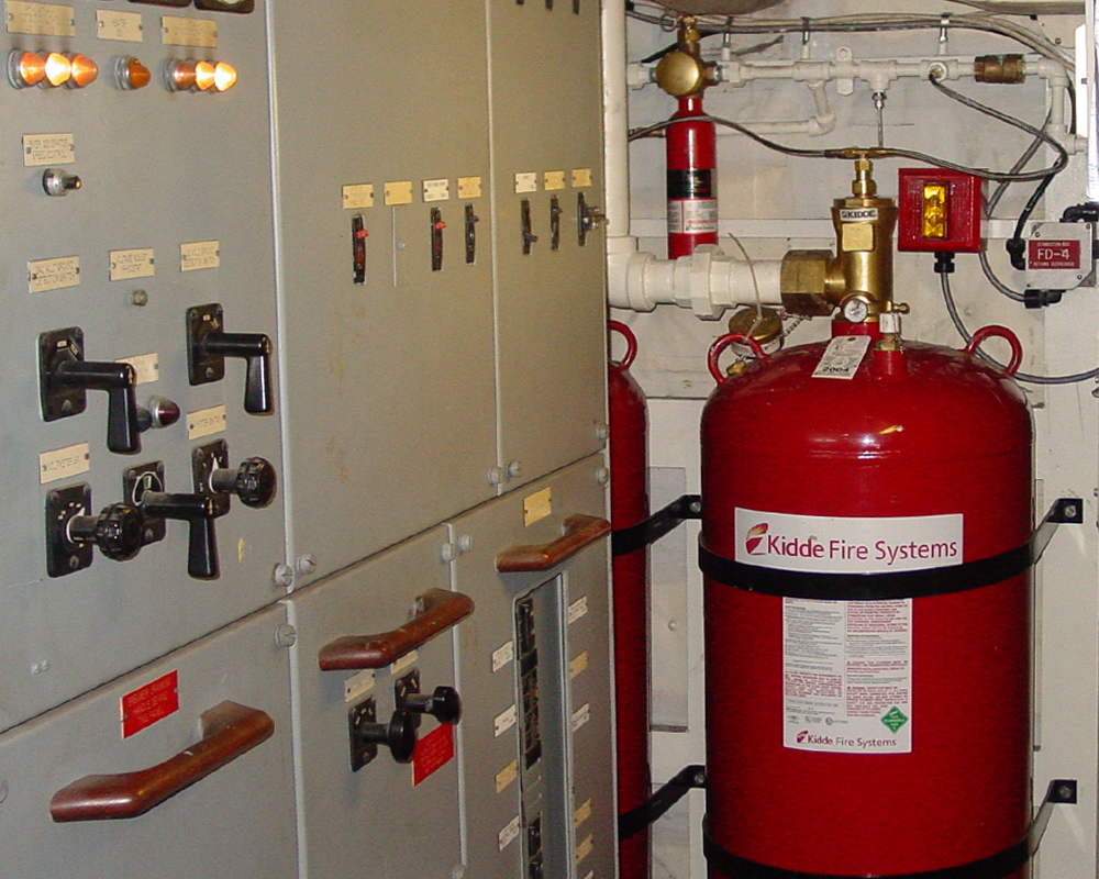 Kidde Engineered Fire Suppression System Pt Vinelko